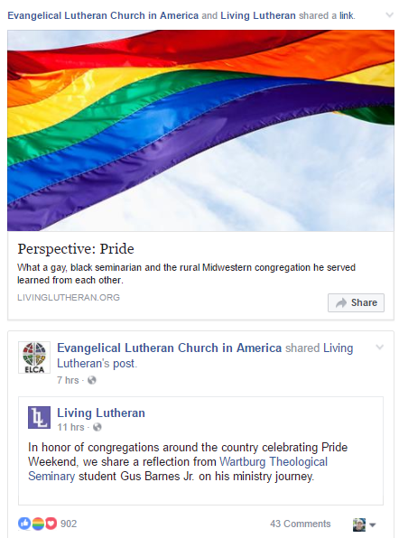 Lutheran beliefs on homosexuality